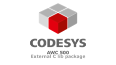 Codesys AWC500 External C Lib Package